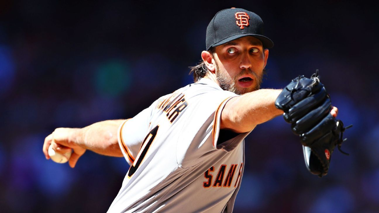 Madison Bumgarner of San Francisco Giants hurt in dirt bike accident, to DL