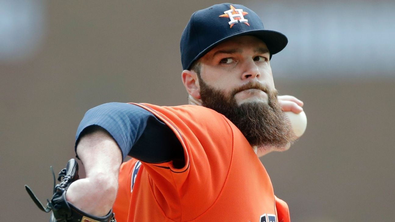 Houston Astros place Dallas Keuchel on disabled list with pinched nerve
