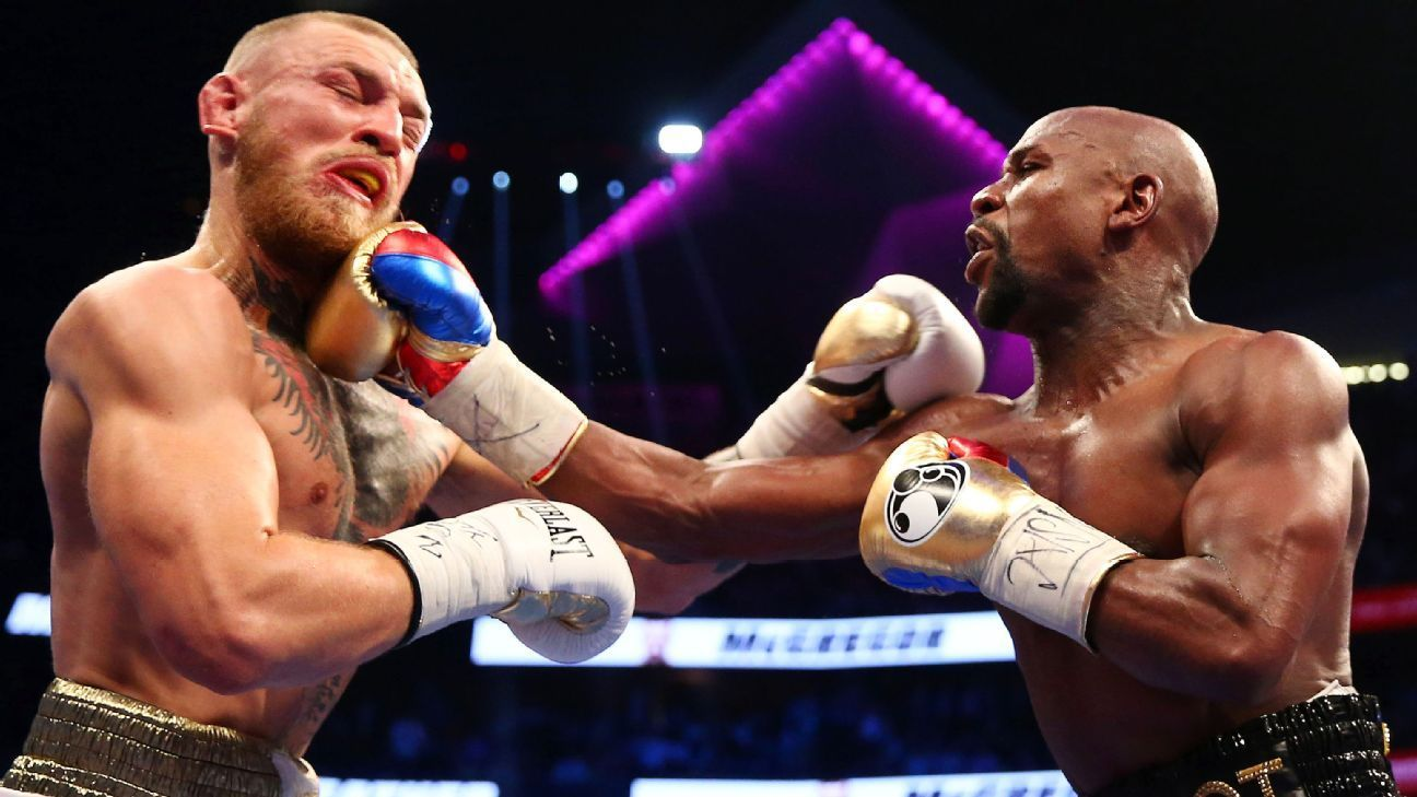 Floyd Mayweather defeats Conor McGregor by TKO in 10th round - ESPN