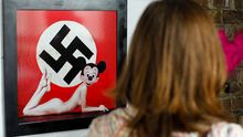 Mickey Mouse With Swastika, Nude Woman Ignites Polish Anger