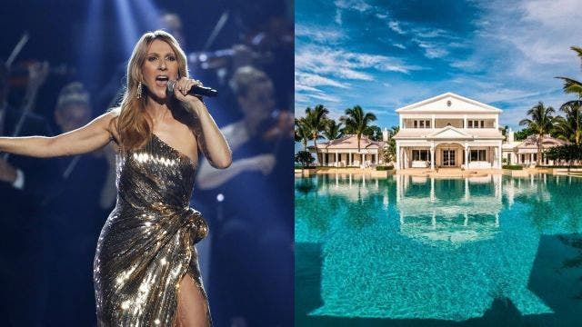 Hot Houses: Celine Dion's palatial private water park and Gwen Stefani's Beverly Hills' mansion
