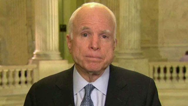 John McCain reacts to Chelsea Manning commutation