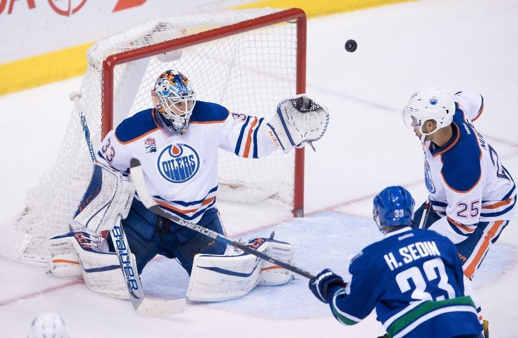 McDavid, Talbot help Oilers beat Canucks for 5th straight