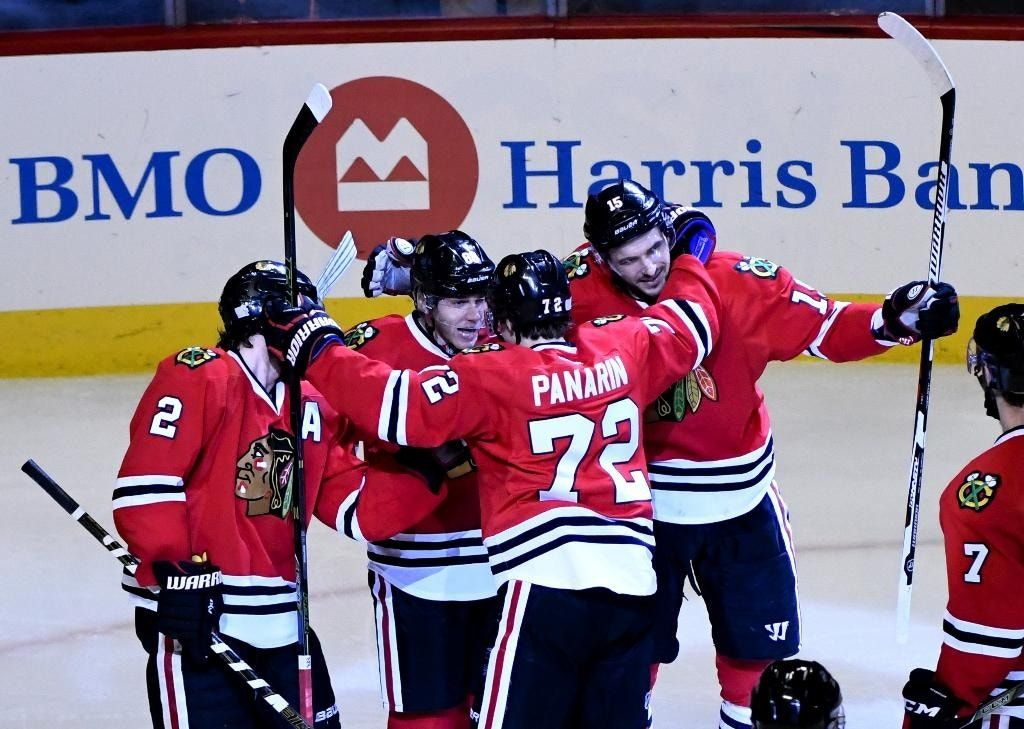 Kane helps Blackhawks beat Flames 5-1 for 3rd straight win
