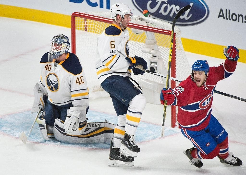 Pacioretty gets hat trick to lift Canadiens over Sabres 5-2