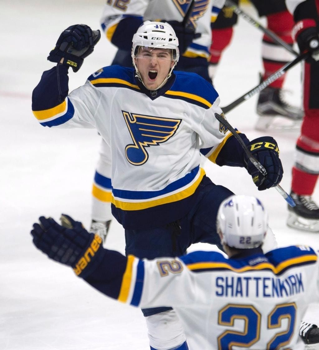 Allen, St. Louis Blues blank Ottawa Senators 6-0
