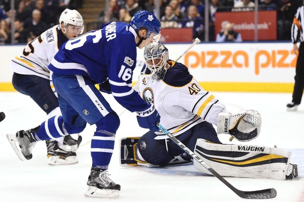 Evander Kane scores twice, Sabres beat Maple Leafs 3-1