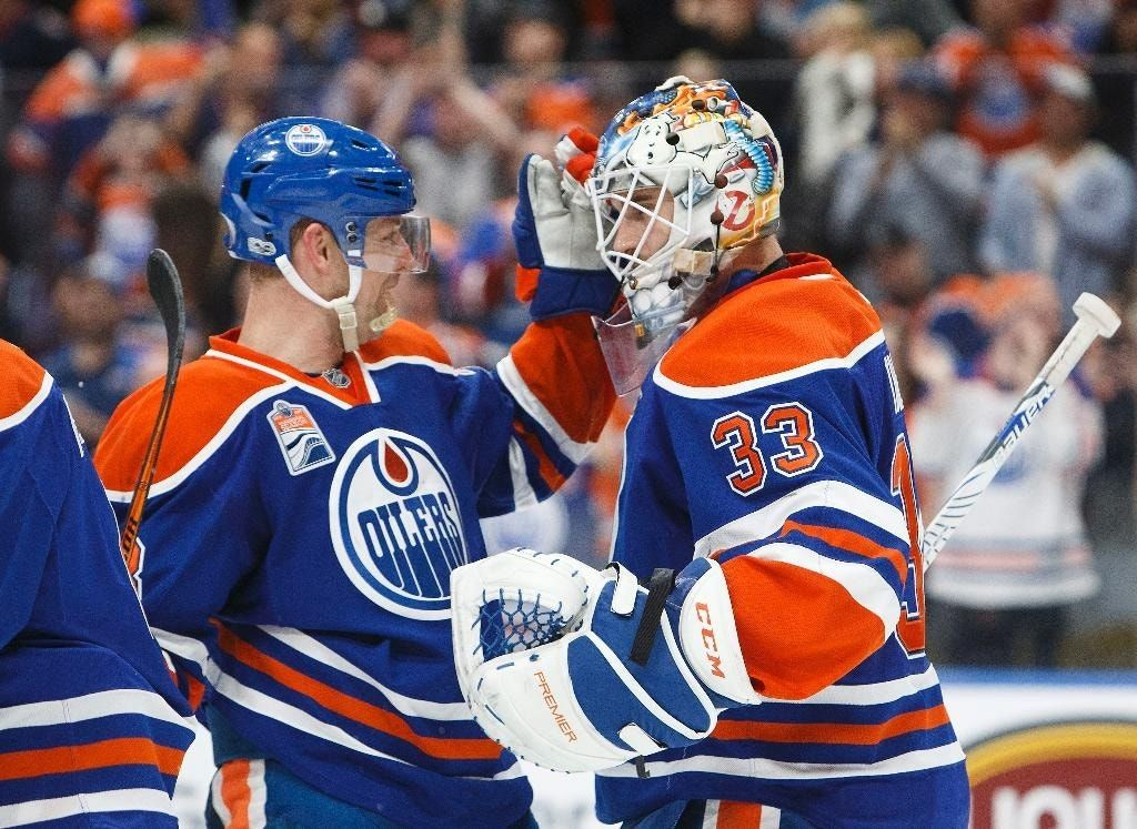 Talbot turns in 2nd straight shutout, Oilers blank Kings 2-0