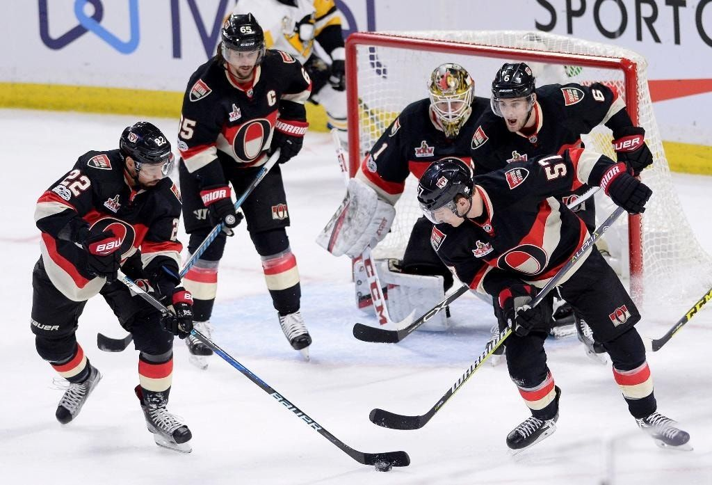 Turris, Ryan score in shootout as Senators edge Penguins