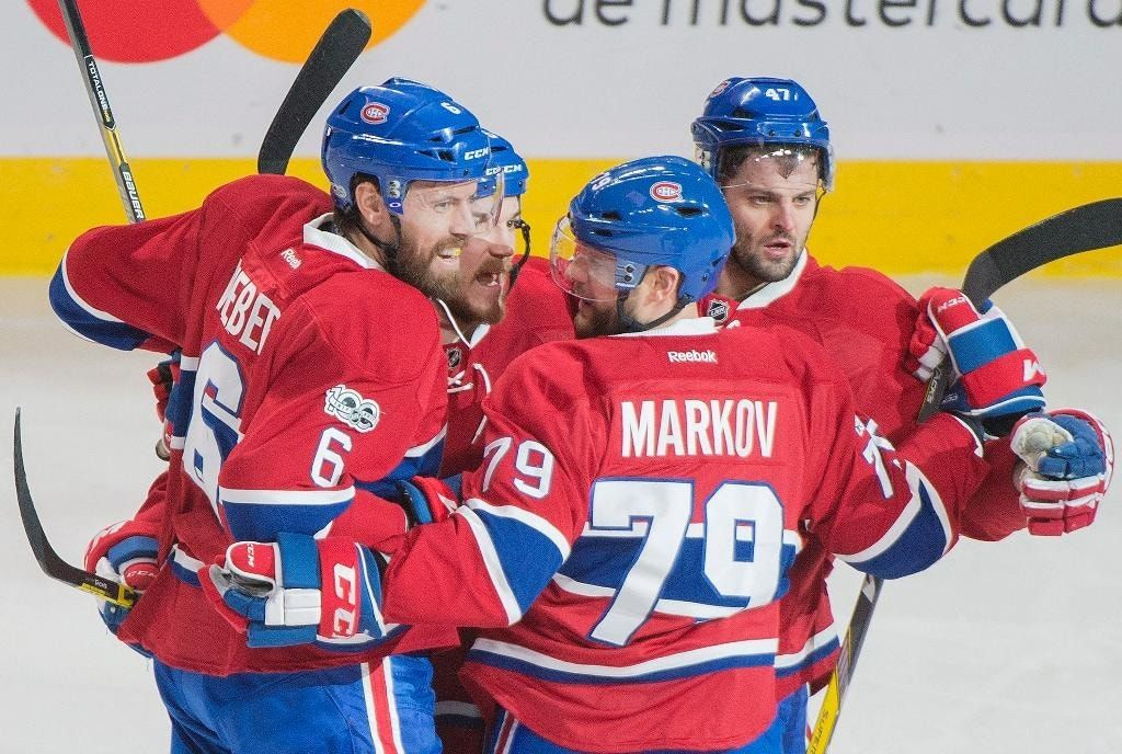 Markov scores twice, sets up Weber as Canadiens top Sens 3-1