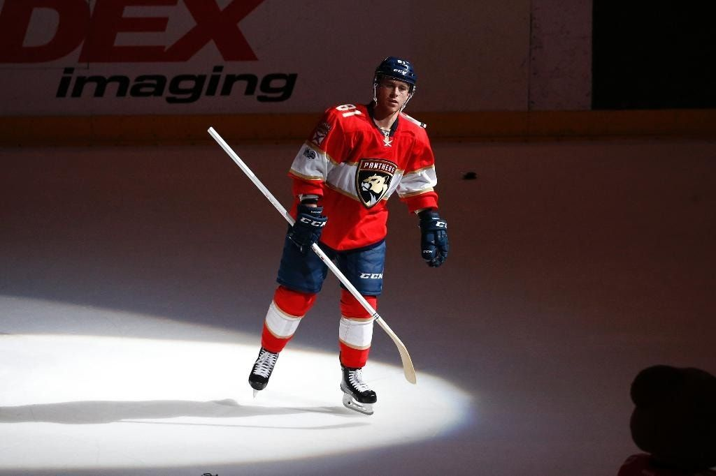 Marchessault's hat trick leads Panthers past Blackhawks 7-0