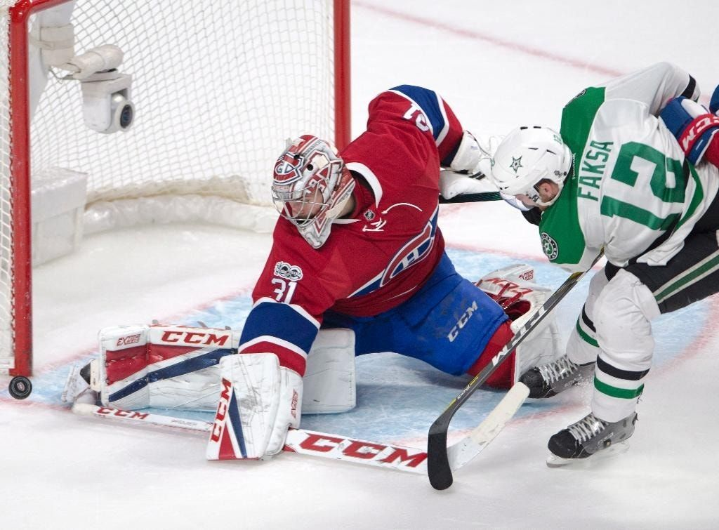 Gallagher puts Canadiens ahead in 4-1 win over Stars