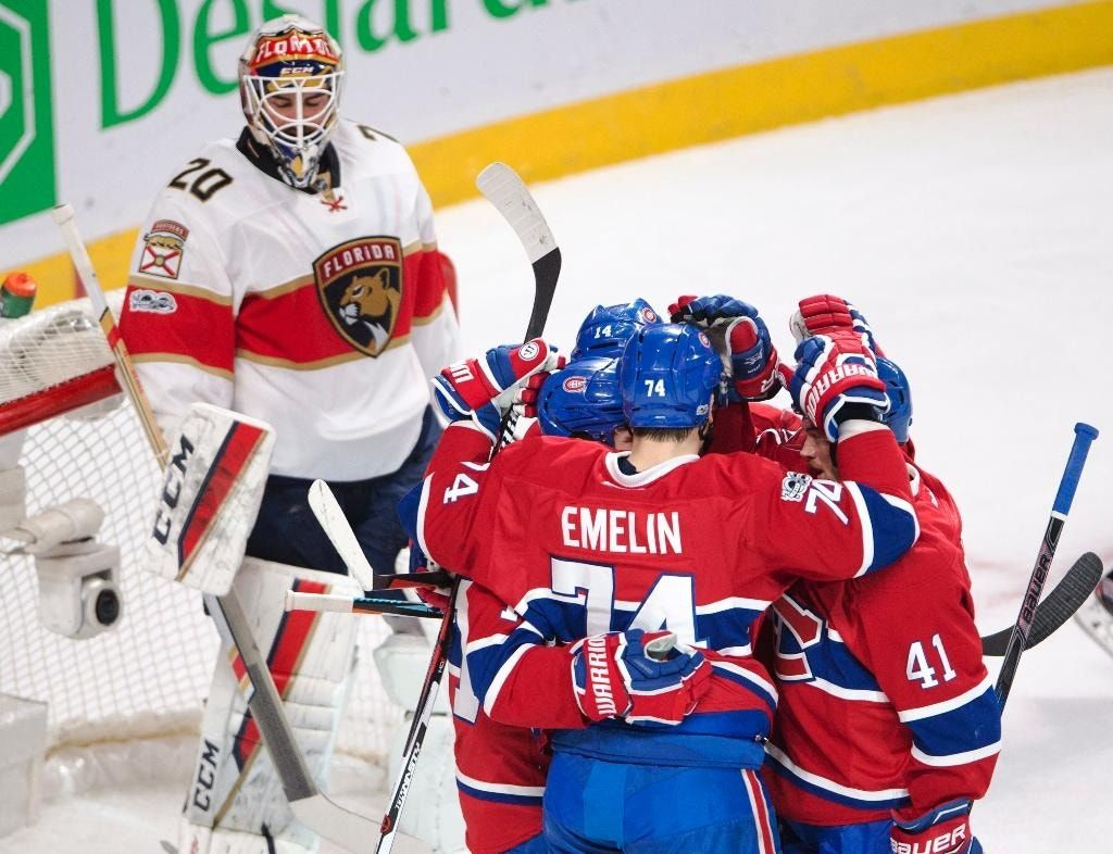 Byron, Canadiens beat Panthers 6-2 to clinch playoff spot