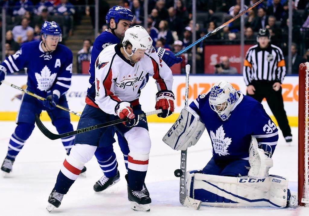 Capitals snap Maple Leafs' 4-game win streak, 4-1