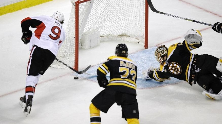 Senators beat Bruins 1-0, take 3-1 lead in series