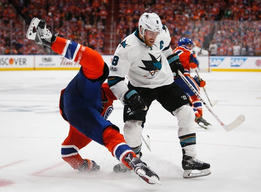 Desharnais scores late in OT to lift Oilers over Sharks, 4-3