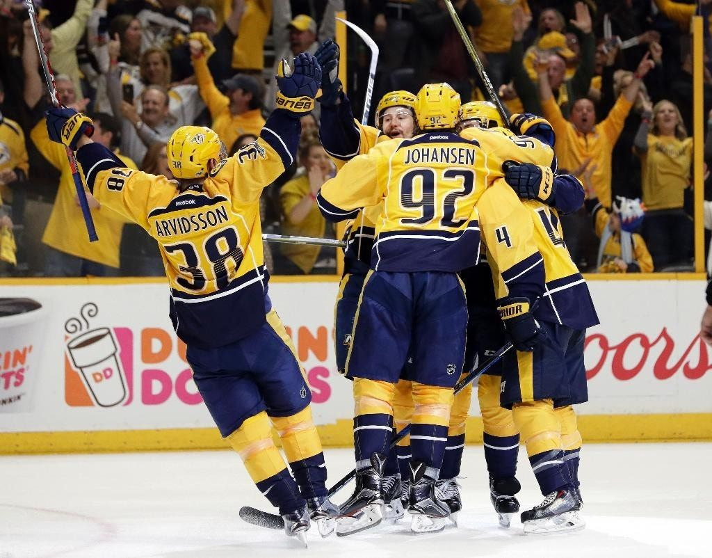 Predators rested, ready to face Blues in surprising semi