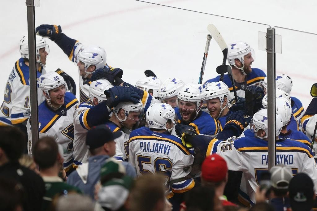 Yeo, Blues prep for Predators after five-game win over Wild