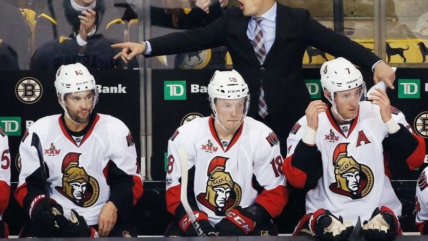 Senators survive another OT to advance in NHL playoffs