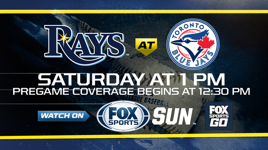 Saturday, April 29: Tampa Bay Rays at Toronto Blue Jays game preview