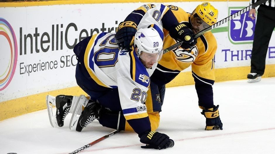 Blues must keep Predators' defensemen in check
