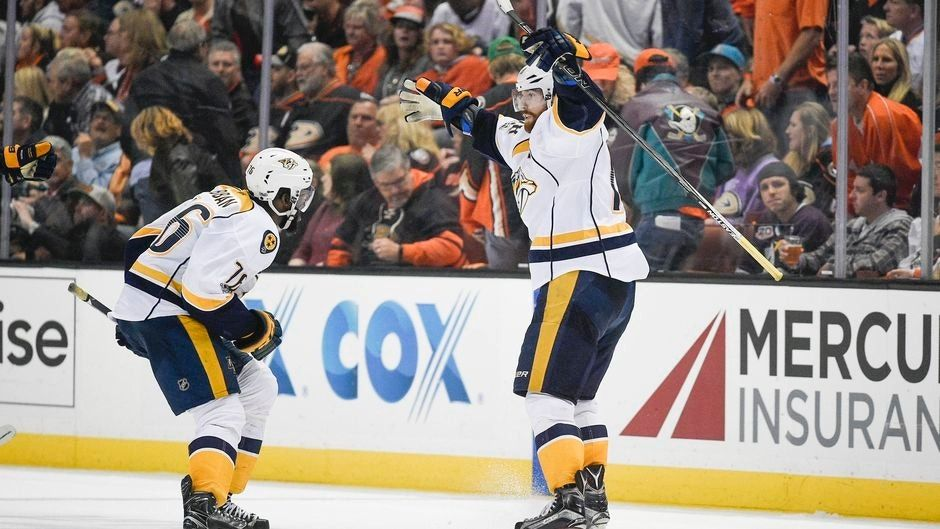 James Neal's OT goal puts Predators past Ducks to open West final