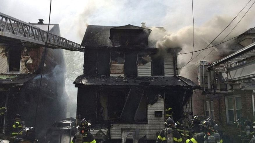 Five dead, including three children, in New York City house fire