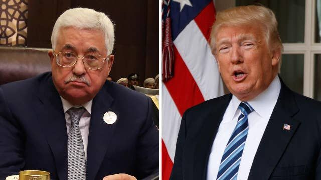 Trump to host the Palestinian president at the White House