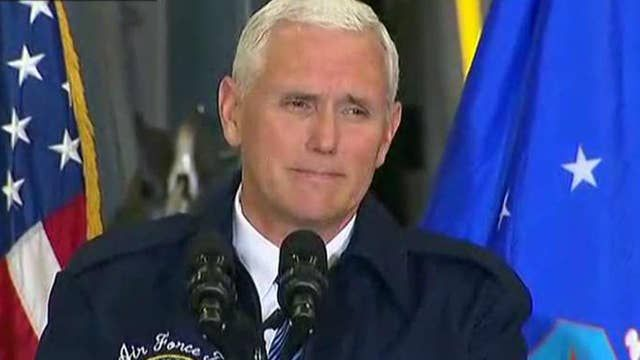 Pence: Trump is renewing America's role as leader