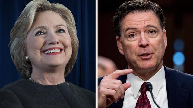 Comey accused of clearing Clinton before interview