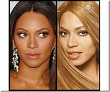 Look at what L�Oreal has done to Beyonce to make her �beautiful