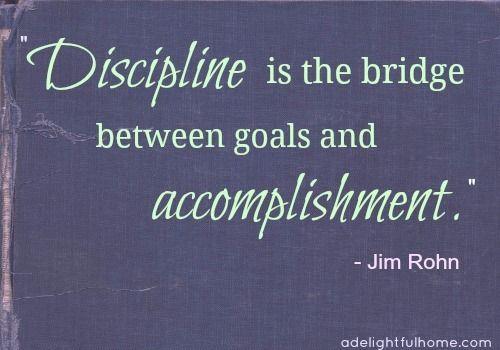 Homemade Discipline