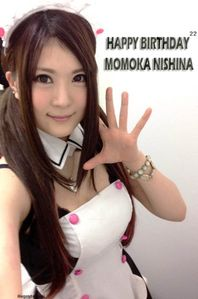 Happy 22nd Birthday Momoka Nishina