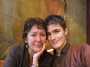 Me and mum in Barcelona 2006