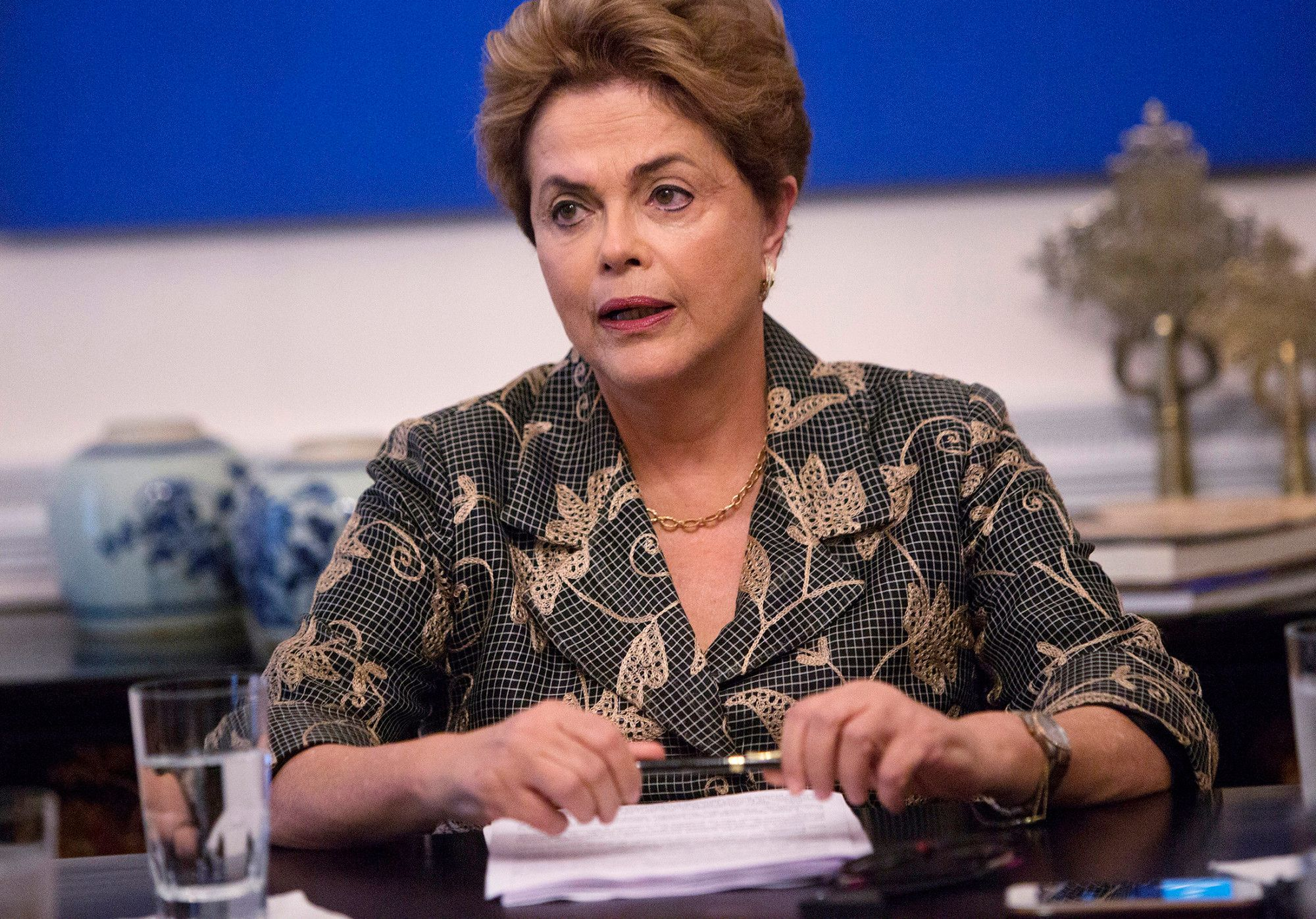 Brazil Impeachment Vote May Spell Rousseff's Last Day on Job - Bloomberg
