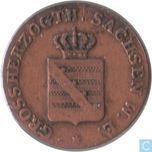 Coin  SaxeWeimarEisenach  SaxeWeimarEisenach 1 pfennig 1851 A