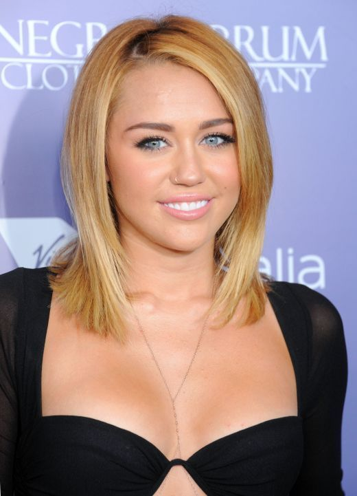 Perfect Blonde Miley May Fucks