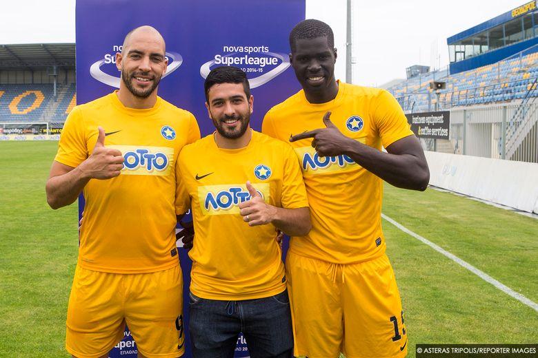 Barrales, Lluy και Sankare στην BEST TEAM