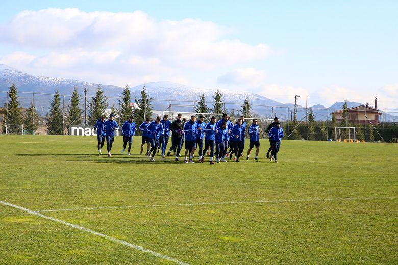 ΑΣΤΕΡΑΣ: Προετοιμασία για το ματς Κυπέλλου (photos)