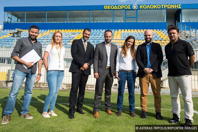 Επίσκεψη της UEFA στην Τρίπολη