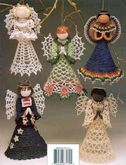 »My handmade Angels crochet Angels Around the World ~~BC
