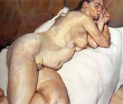 Naked Woman On A Sofa  Lucian Freud Paintings Wallpaper Image