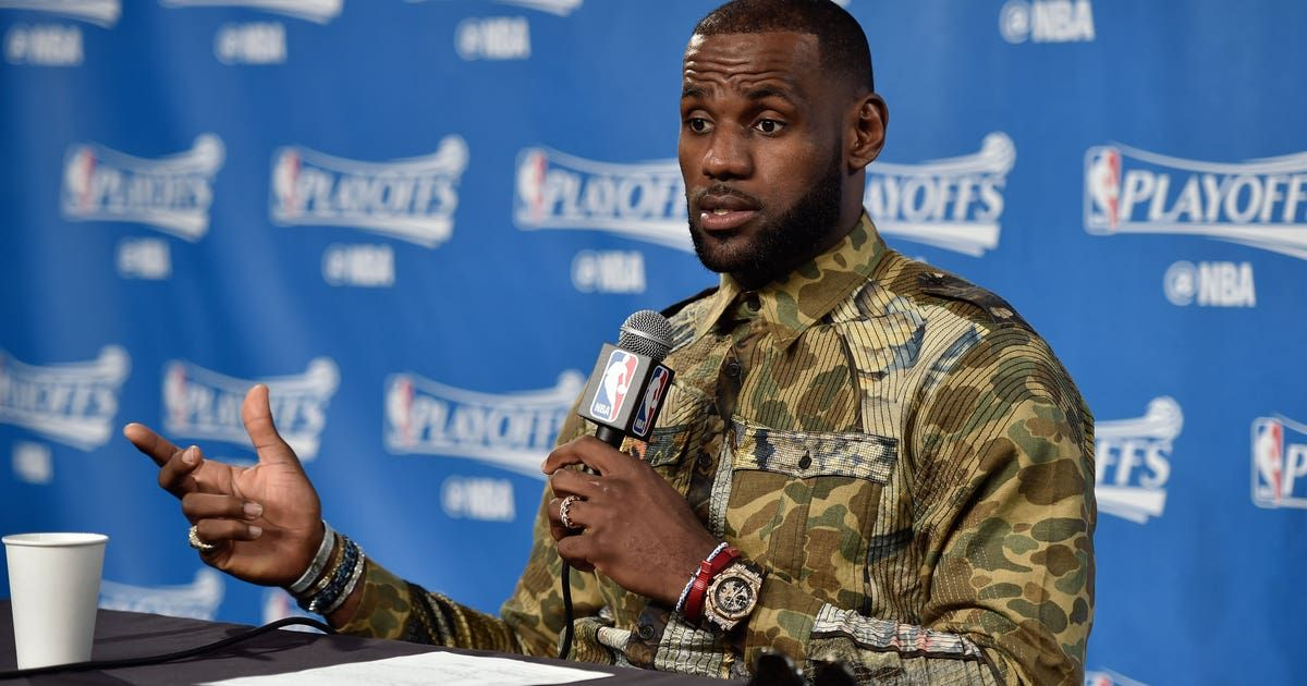 LeBron James shares his thoughts on the Adam Jones situation, racism in Boston - FOXSports.com
