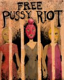 Free Pussy Riot by Molly Crabapple