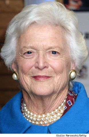 RIGHT SPEAK: Former First Lady Barbara Bush robocalls for Mitt Romney