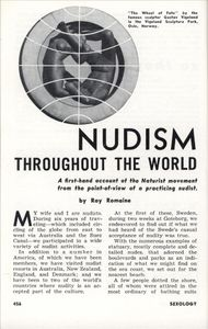 NUDISM THROUGHOUT THE WORLD | Modern Mechanix