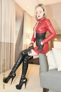 red_dress_fetish_diamonds_by_lady_ann - Lady Ann - ernest92 - Photos