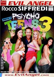 Rocco's Psycho Teens # 3 DVD Cover Art