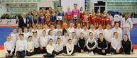 for switzerland finished in fourth usa only had two junior gymnasts