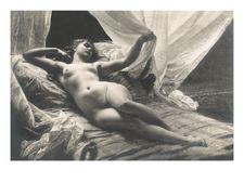 Exotic Vintage Nude Gicleevedos AllPosters fisivustossa